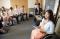 Woman in wheelchair teaches a Sunday school class