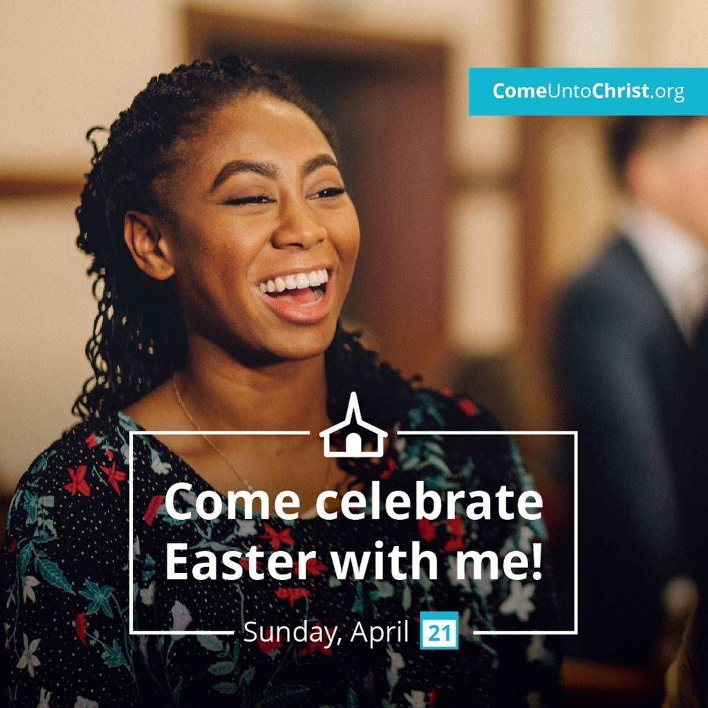 Invitation meme for the 2019 Easter season