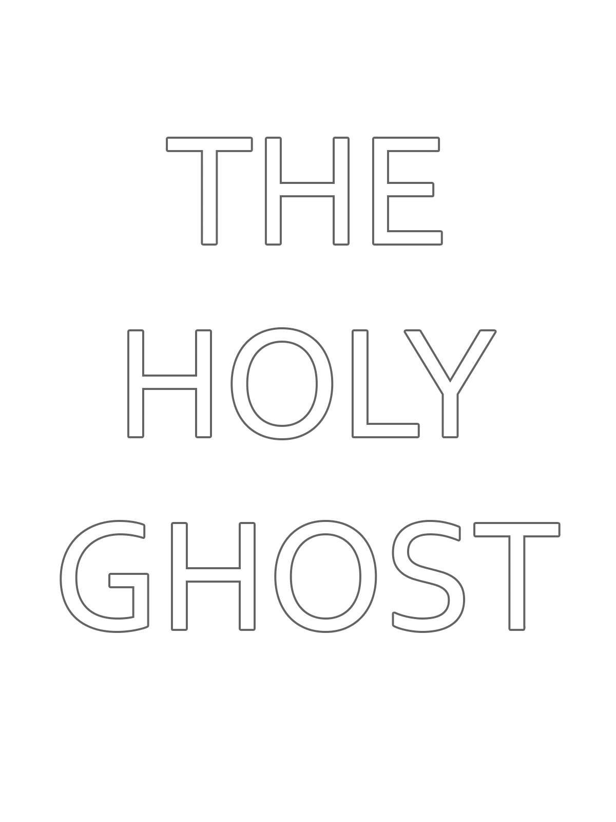 An illustration of the Holy Ghost.