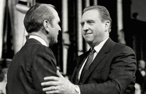 President Nelson with President Monson