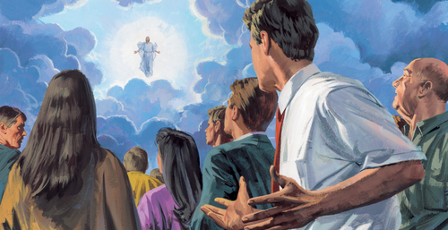 Jesus appearing to people