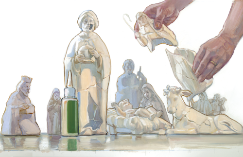The Broken Nativity