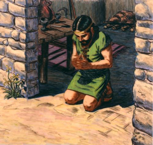 brother of Jared praying