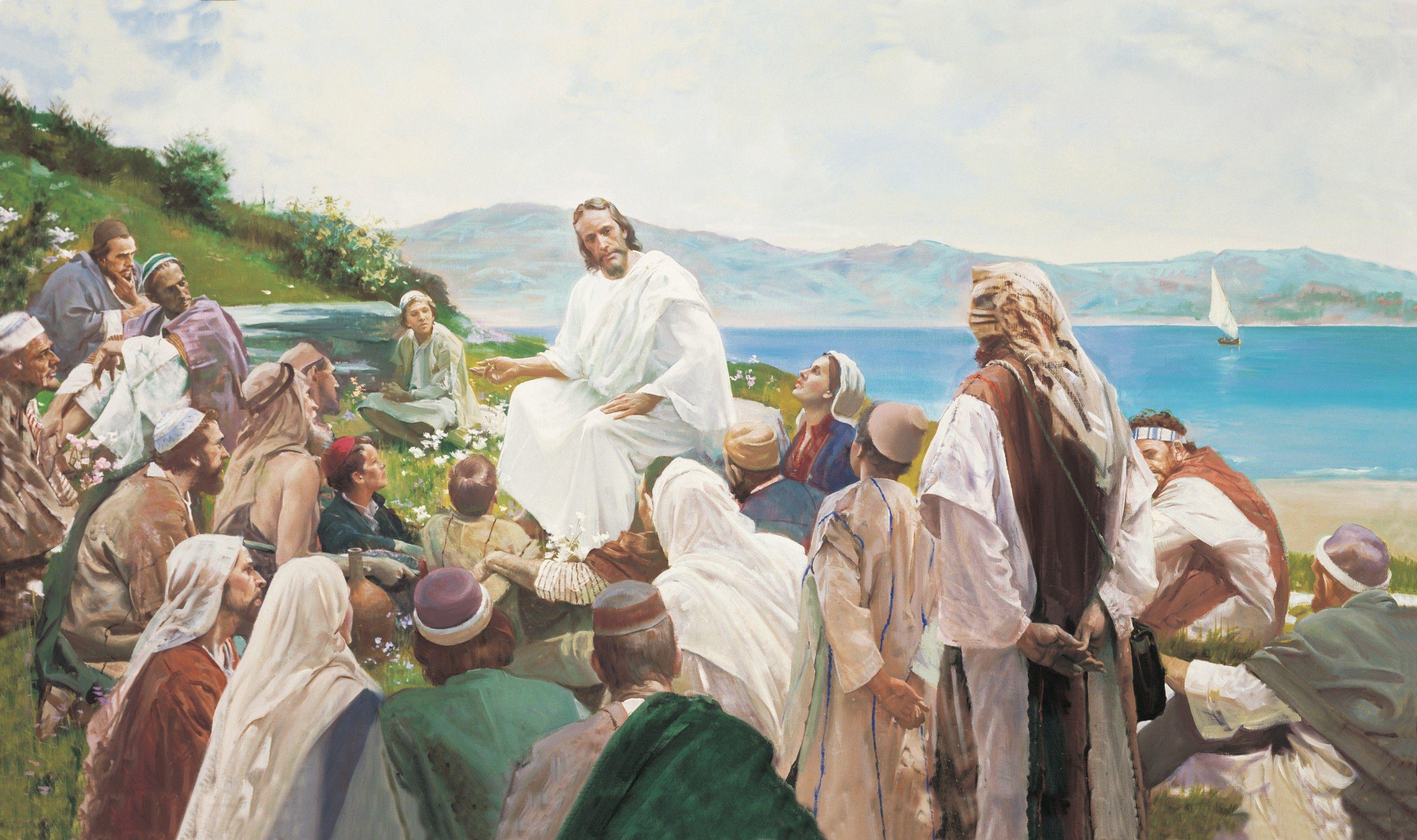 Sermon on the Mount, by Harry Anderson (62166); GAK 212; Primary manual 1-55; Primary manual 2-37; Primary manual 3-51; Primary manual 7-12; Matthew 5–7