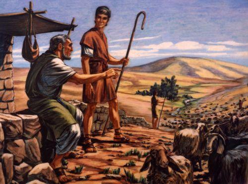Laban and Jacob