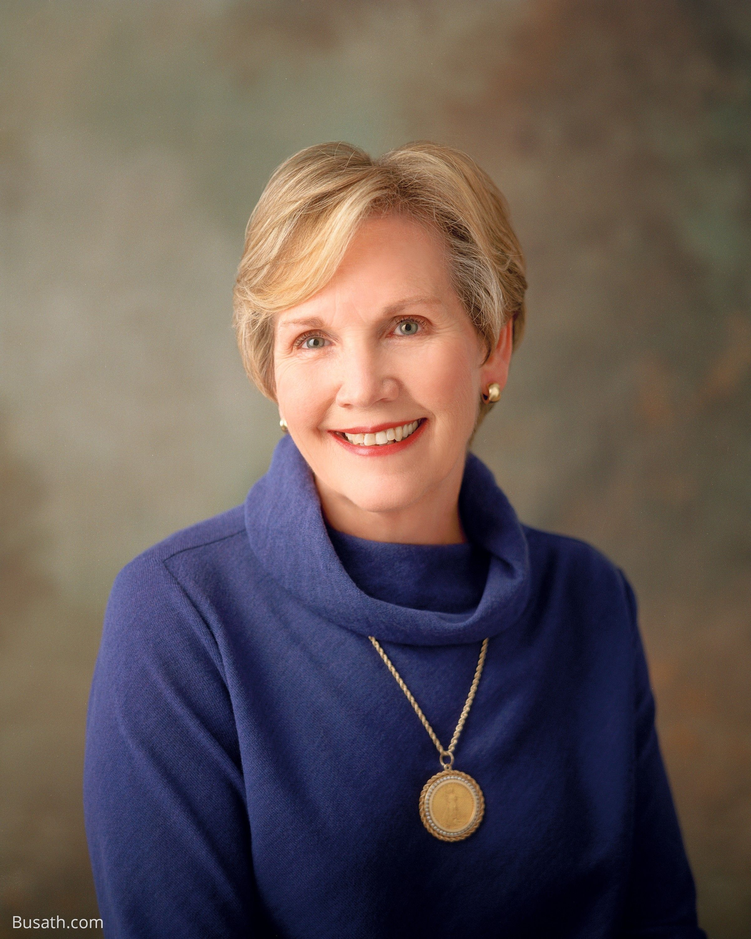 A portrait of Bonnie Dansie Parkin, who served as the 14th general president of the Relief Society from 2002 to 2007.