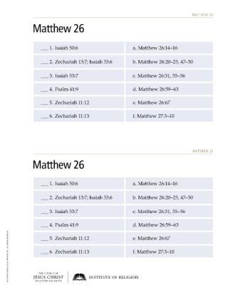 New Testament Teacher Manual, Rel 211–212, Rev. 2013