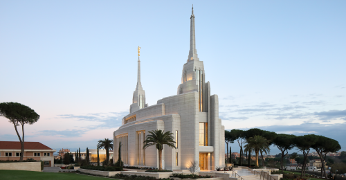Rome Italy Temple