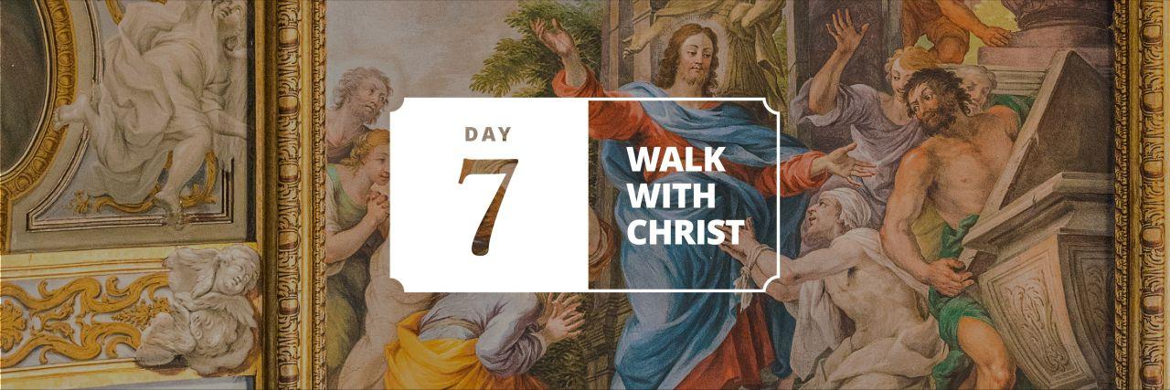 Jesus Christ teaches His disciples