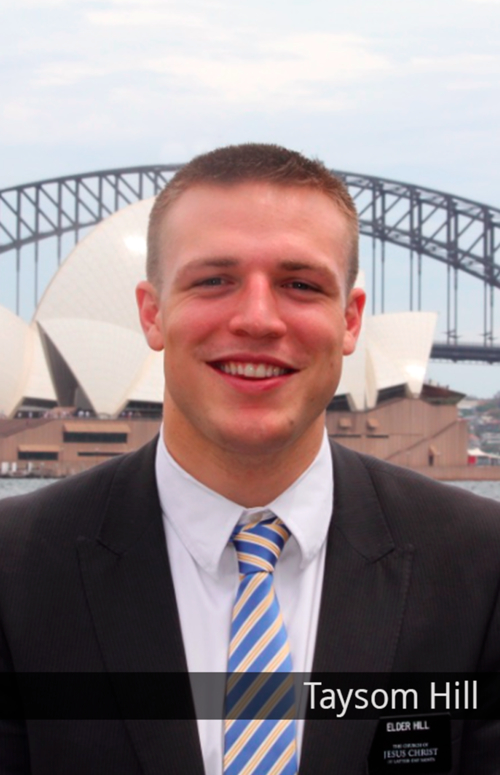 Taysom Hill as a missionary