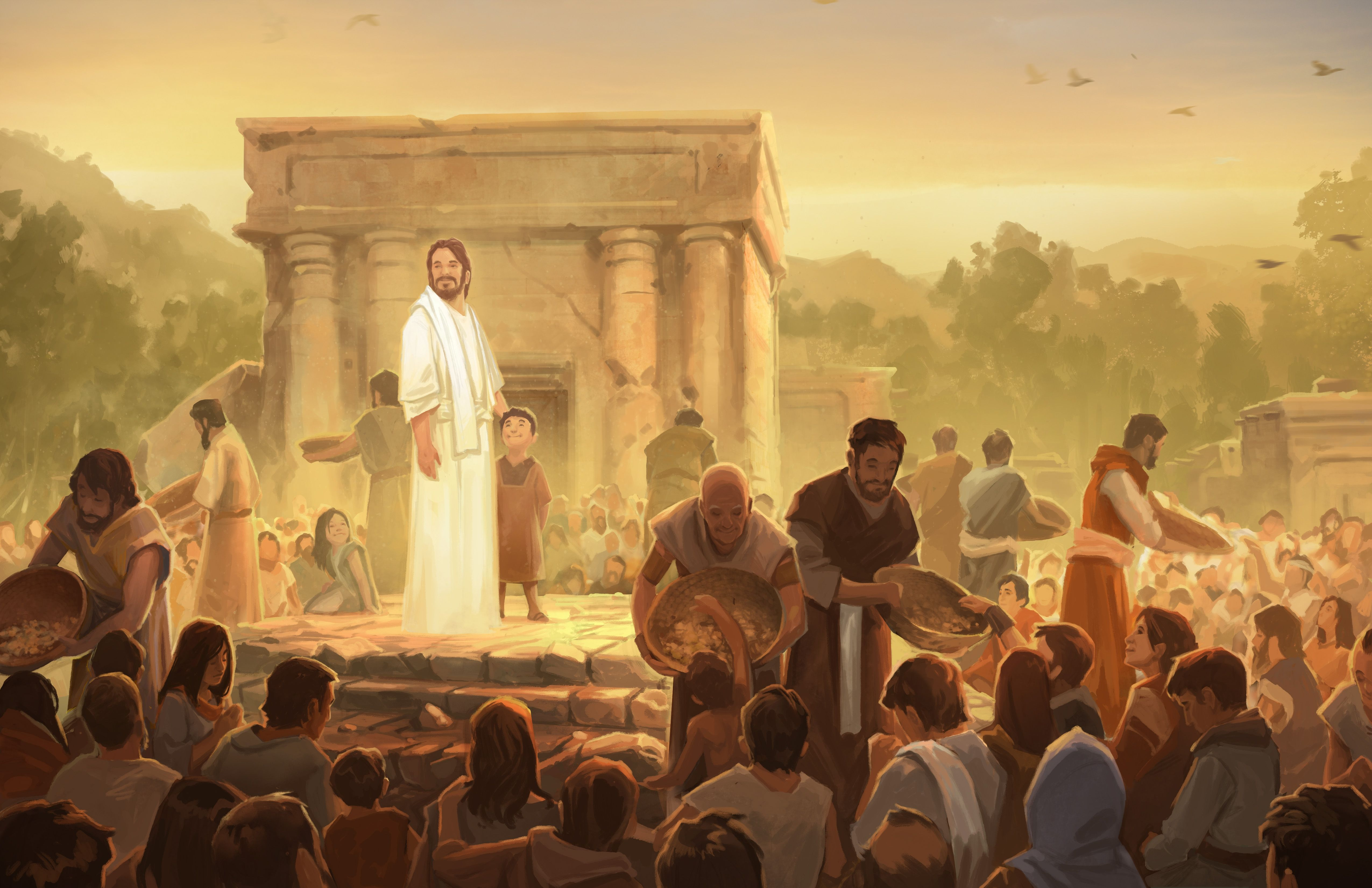 Christ Appears in Americas, by Andrew Bosley