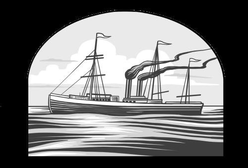 Saints V2 illustration - Steam Ship