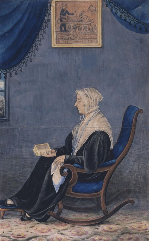 Lucy Mack Smith (1776-1855) - Portrait