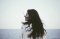 Diana Spatariu: young woman looking at the horizon