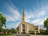 A rendering of the temple in Winnipeg, Manitoba.