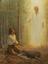 José recibe las planchas de oro de manos de Moroni