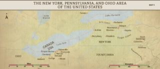 Church History Maps: The New York, Pennsylvania, and Ohio Area of the United States