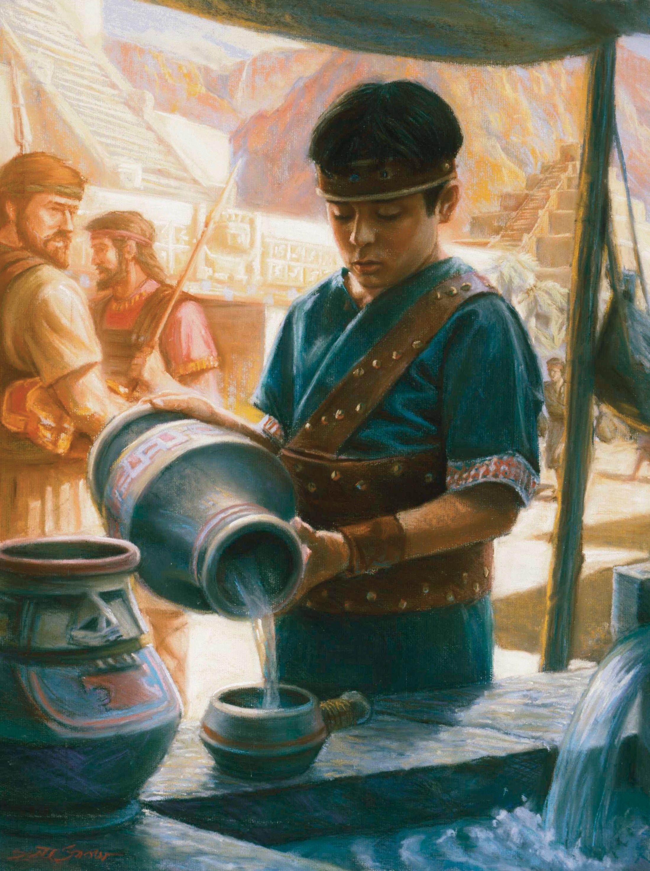 Mormon, Age 10, by Scott M. Snow