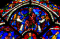 Notre-Dame Cathedral: Parable of the Good Samaritan Stained Glass Window