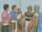 Nephites being captured