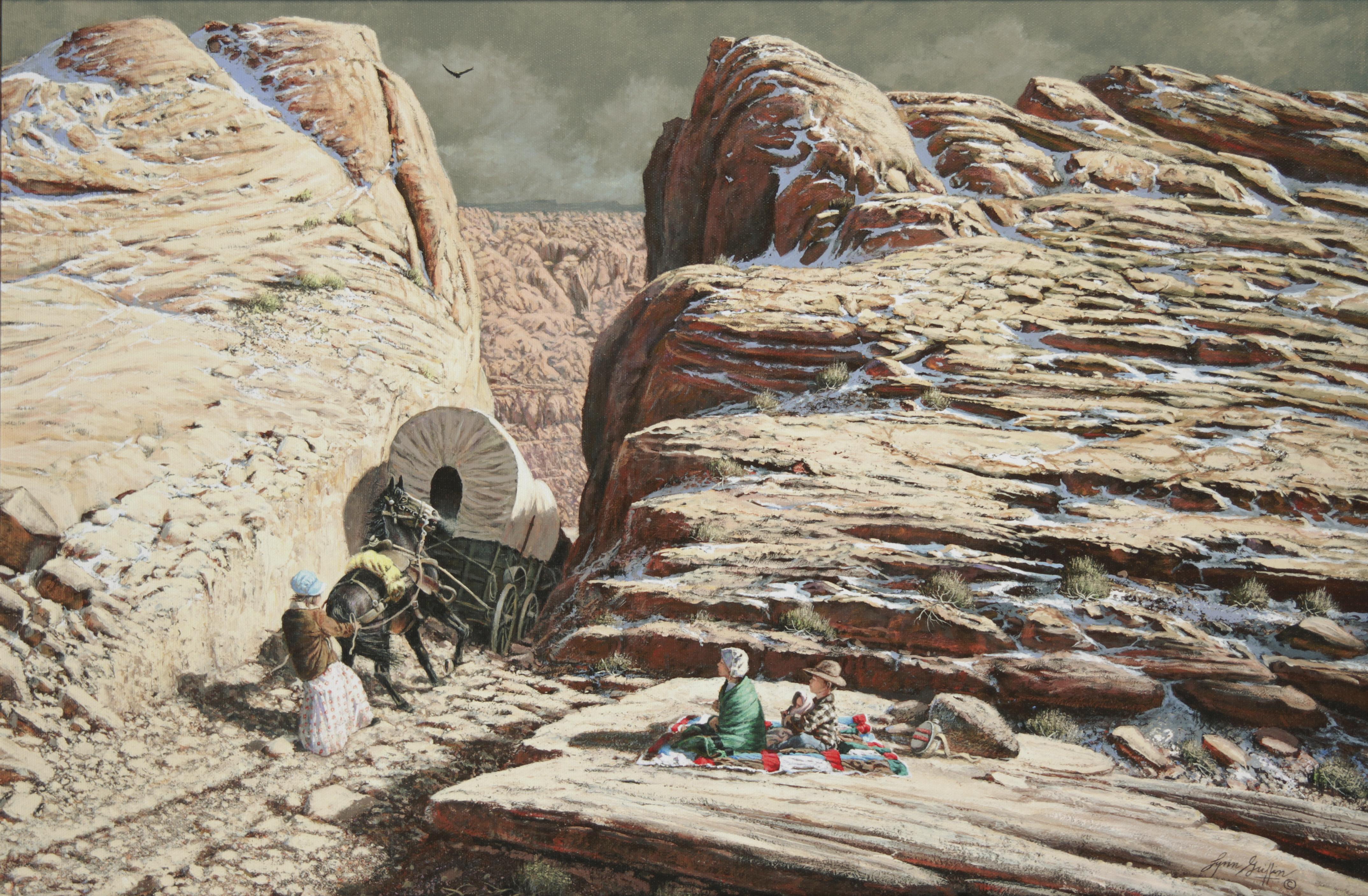 The Last Wagon, by Lynn Griffin