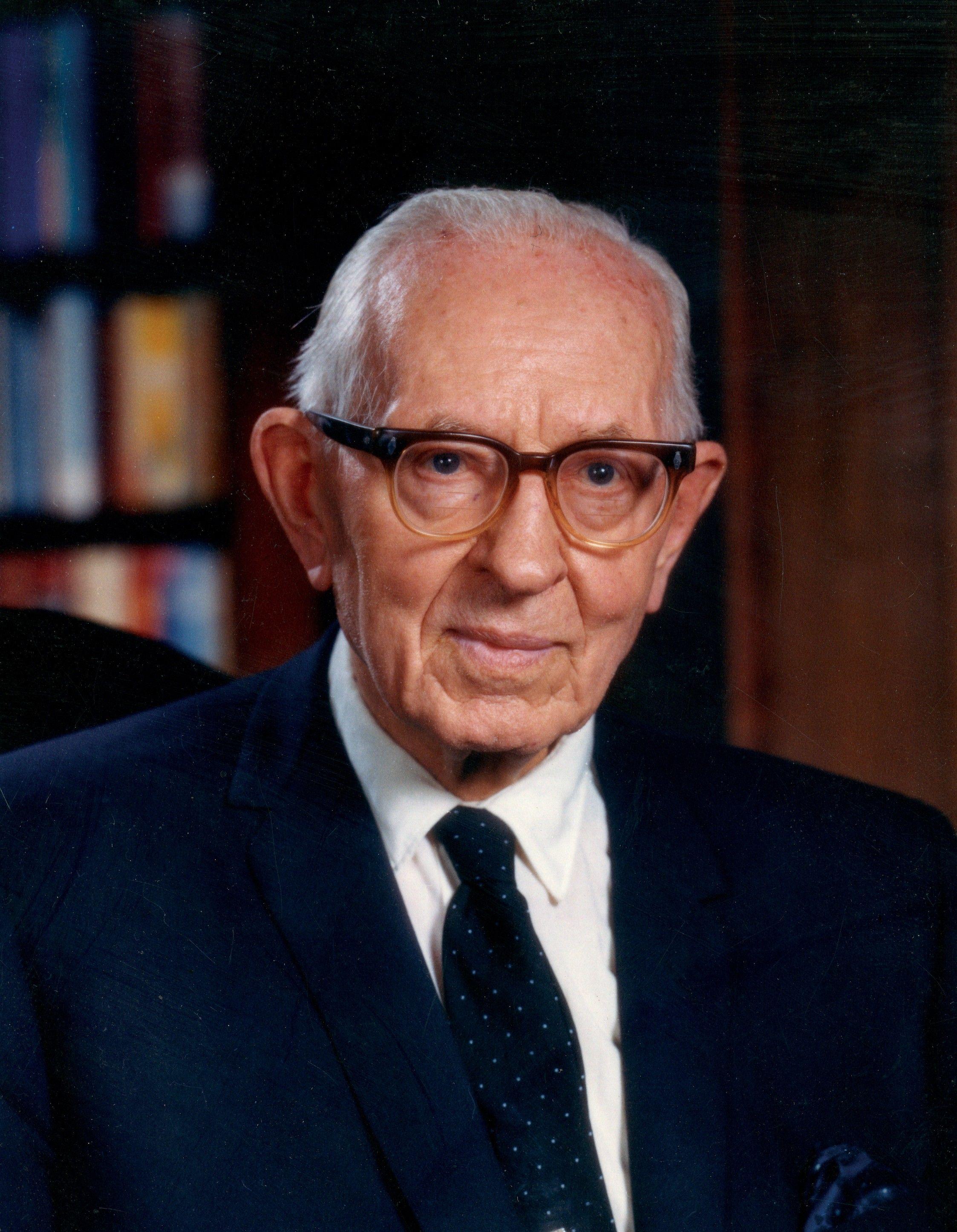 President Joseph Fielding Smith sitting in his office. Teachings of Presidents of the Church: Joseph Fielding Smith (2013), 82