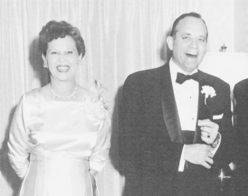 Howard W. Hunter and wife Claire