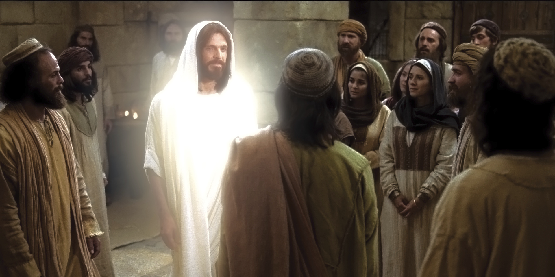 After His Resurrection, Christ appears to His disciples.