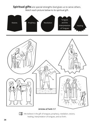 Seventh Article of Faith coloring page