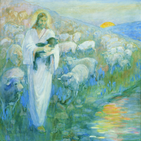(Christ) Rescue of the Lost Lamb