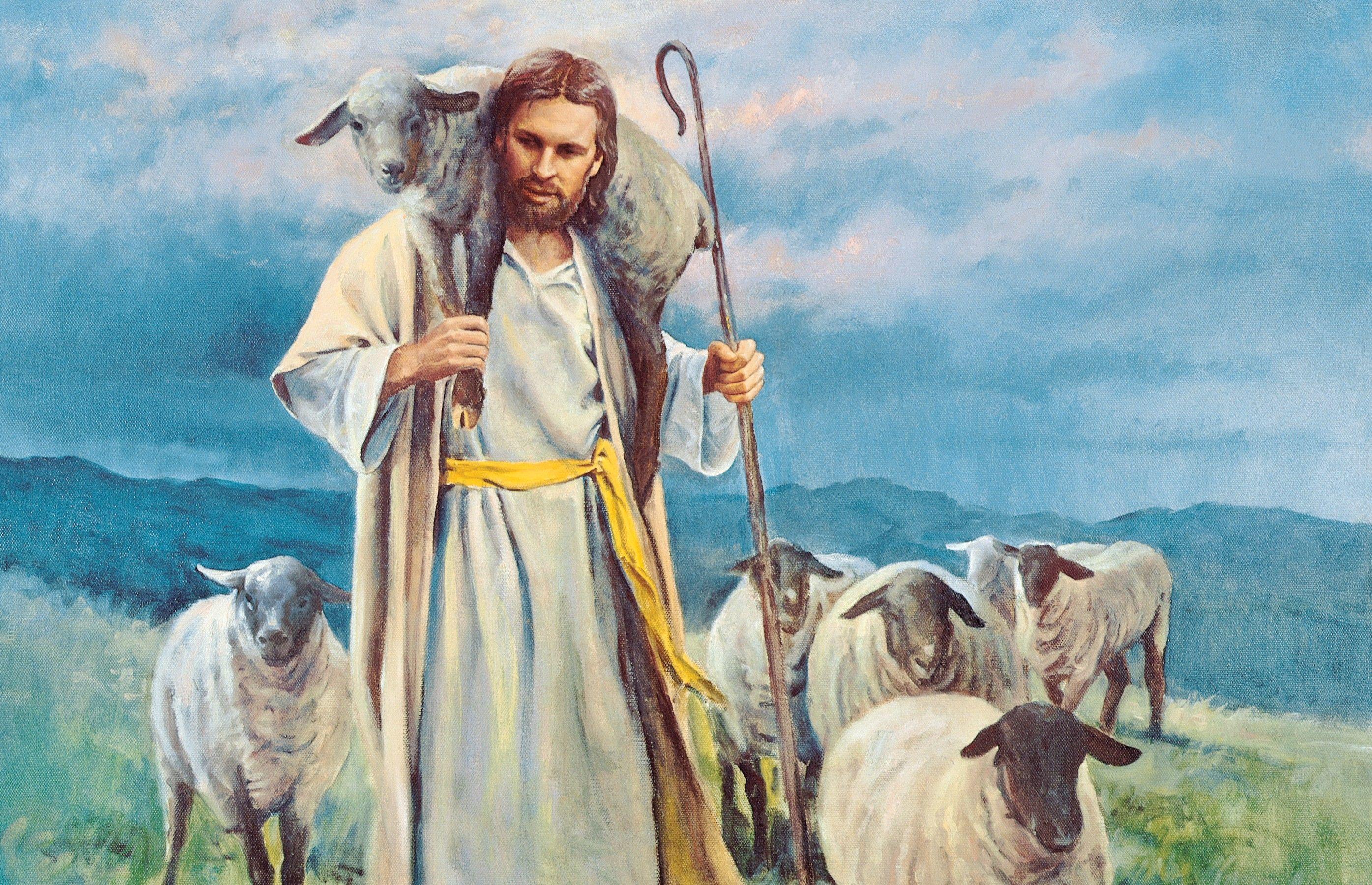 The Good Shepherd, by Del Parson