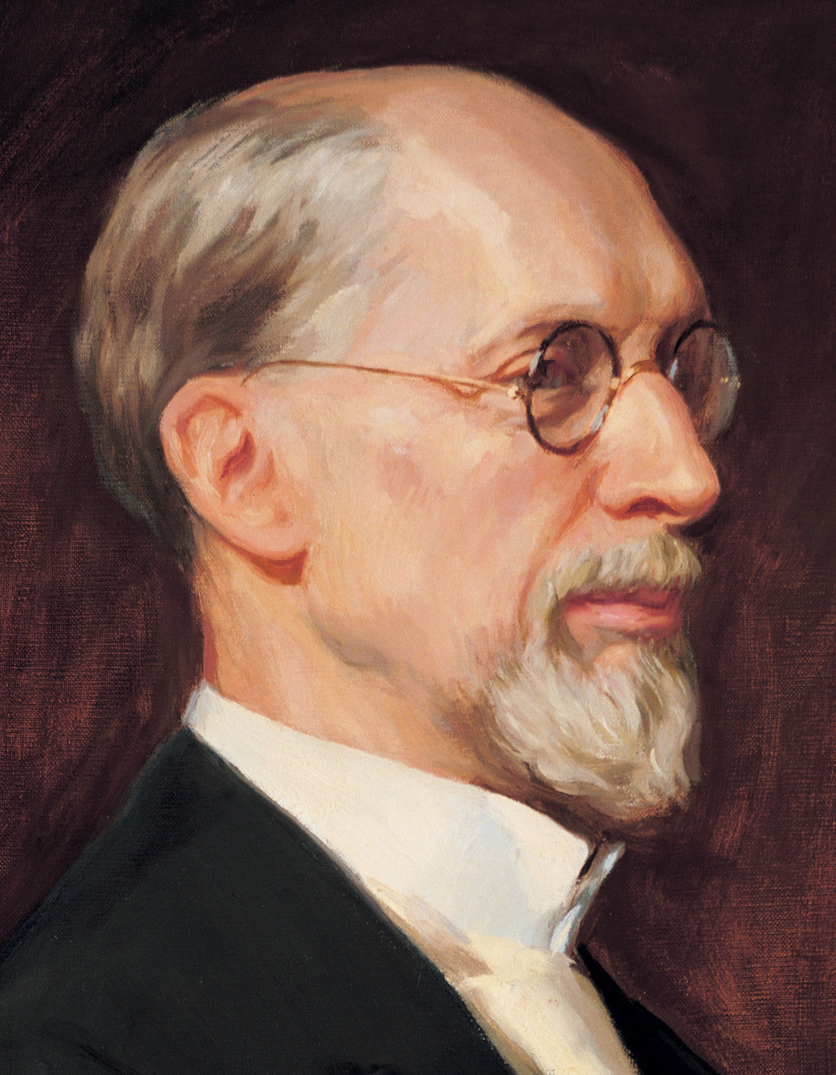 George Albert Smith, by Lee Greene Richards; GAK 513; Our Heritage, 110–14. President George Albert Smith was the eighth President of the Church from 1945 to 1951.