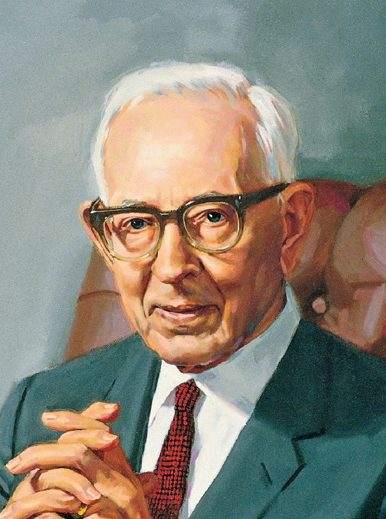 Joseph Fielding Smith, by Shauna Clinger; GAK 515; Our Heritage, 121–23. President Joseph Fielding Smith served as the 10th President of the Church from 1970 to 1972.