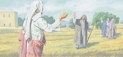 Apostles traveling