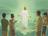Jesus going up to heaven