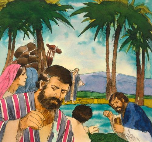 Israelites by river