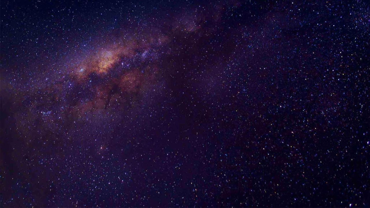 The milky way galaxy shows God knows planets without number in the plan of salvation