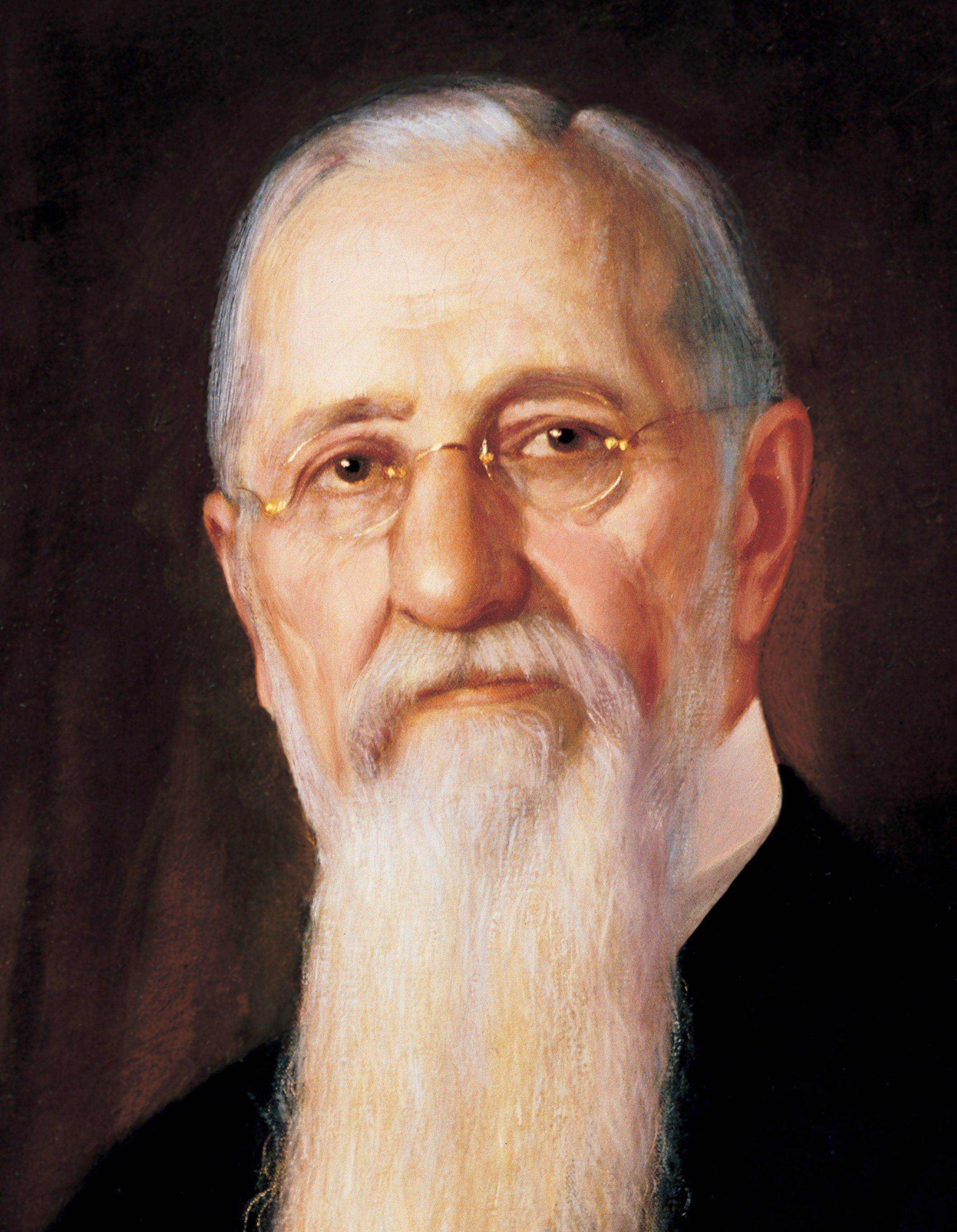 Joseph F. Smith, by A. Salzbrenner; GAK 511; GAB 127; Our Heritage, 105–7. President Joseph F. Smith served as the sixth President of the Church from 1901 to 1918.