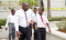 Young Men and Leaders outside the Accra Ghana Temple