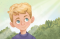 Young boy - Illustration