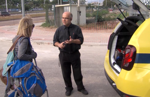 Cab driver at Brazil Olympics