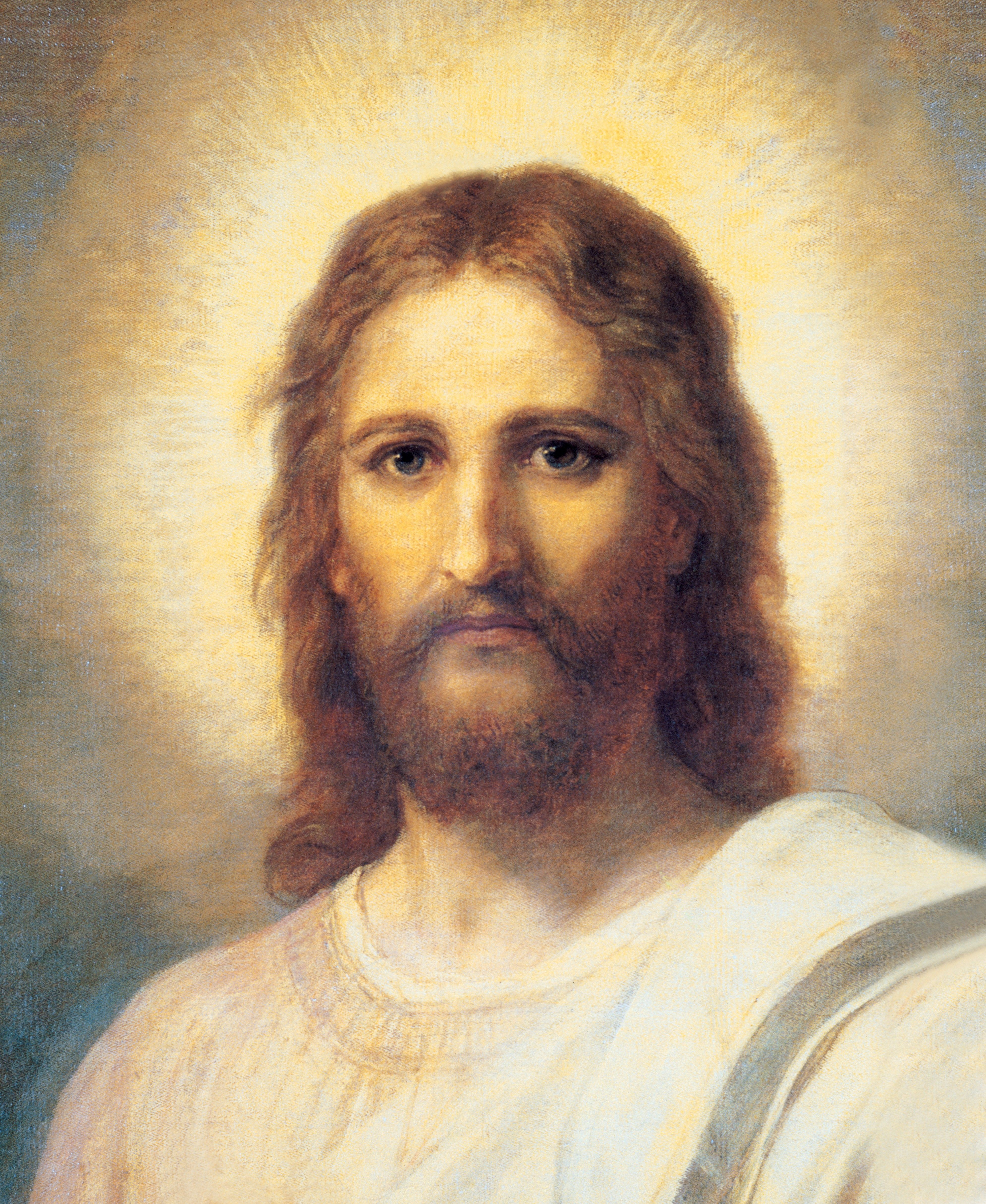 Christ's Image, by Heinrich Hofmann; GAB 1; Exodus 3:14; John 14:6; Mosiah 3:17; Helaman 5:12; 3 Nephi 9:14–18; Mormon 9:11; Doctrine and Covenants 38:1; 76:22–24, 40–42