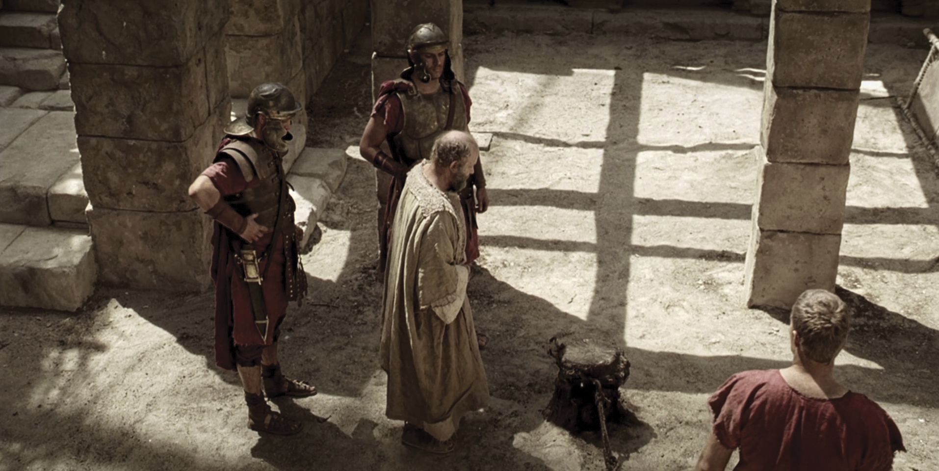 Paul is escorted to his execution.