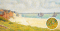 View of Crotoy, by Georges Seurat (1859-1891