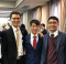 Young Man from Japan with Missionaries