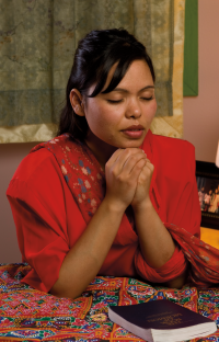 Prayer. Adult. Female