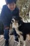 Minchan Kim with Dog
