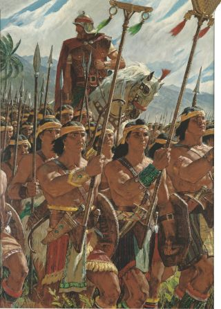 Two Thousand Stripling Warriors, by Arnold Friberg