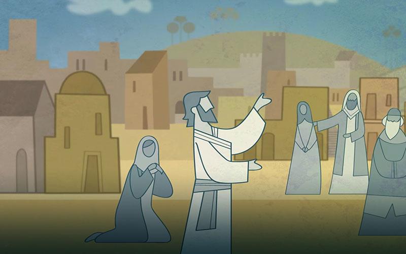 Chúa Giê Su Ky Tô giảng dạy ở Giê Ru Sa Lem