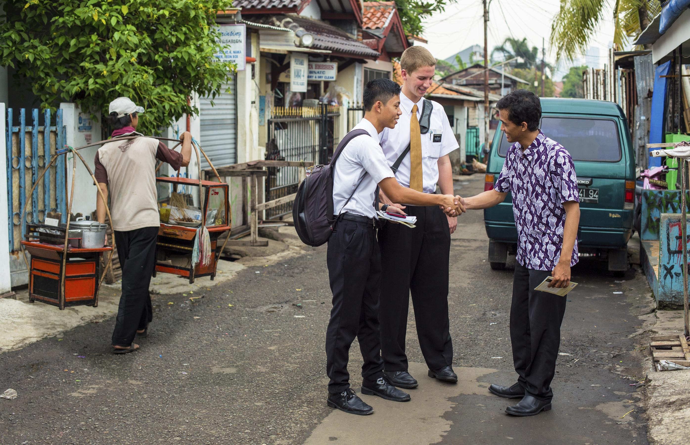 missionaries in Indonesia